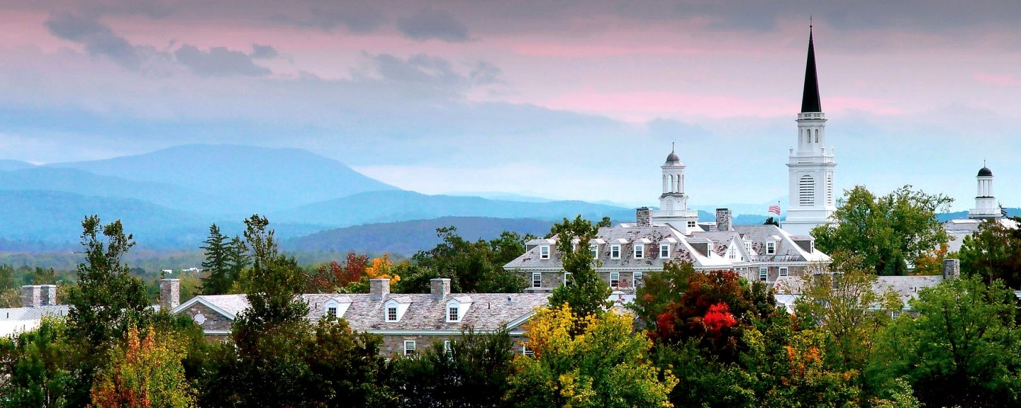Middlebury College scenic view