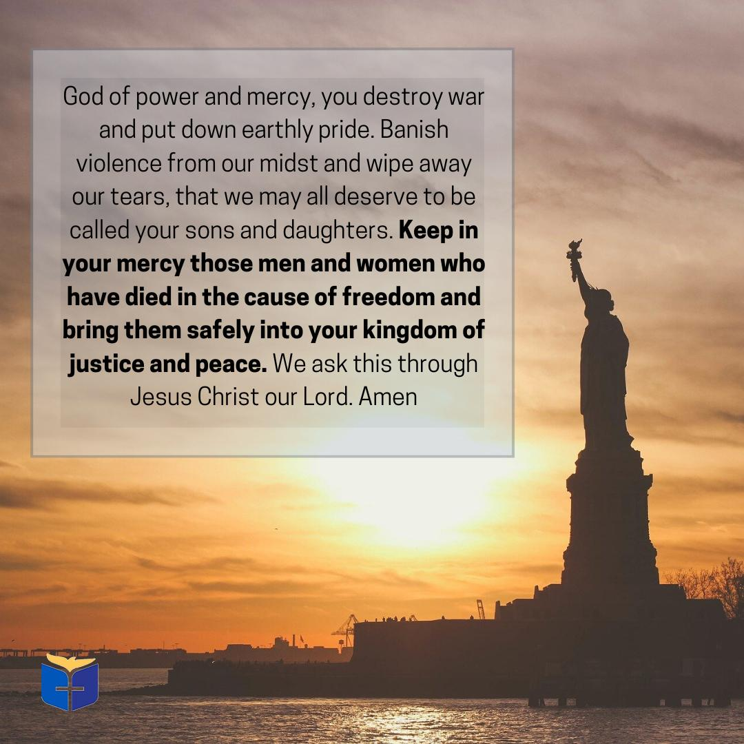 God of Mercy Statue of Liberty