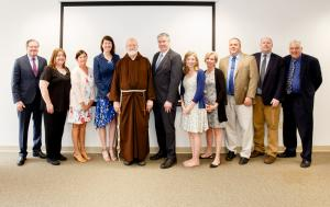 Excellence in Education Honorees with Cardinal Sean and Superintendent Thomas Carroll